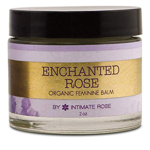 Vulva Balm & Organic Intimate Skin Moisturizer for Women: Natural Vulva Moisturizer & Vulva Cream for Dryness on Intimate Skin - NON Estrogen Cream - Perfect for Menopause & Shaving Rash Relief