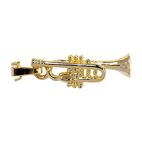 Unbekannt Anhänger Trompete - Schönes Geschenk für Musiker mit Geschenkverpackung