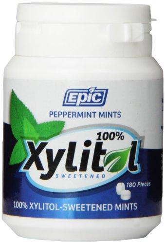 Epic Dental - xilitol endulza mentas hierbabuena - 180 Mint(s)