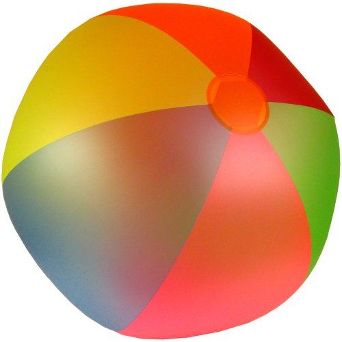 Jumbo Wasserball 85 cm Durchmesser für Strand und Garten, TÜV Geprüft: Wasser Ball Strandball Wasserbälle riesen großer Wasserball 267cm Umfang PVC farbig 0,18 mm • zertifiziertes Qualitätsspielzeug