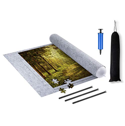 Jigsaw Puzzle Mat Roll up, (Puzzle is not...