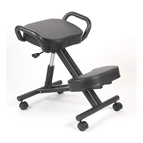 CAISYE Ergonomischer Stuhl Zum Knien Hocker Zum Knien Für Eine Bessere Körperhaltung Großer Stuhl Für Das Büro Oder Den Schreibtisch, Knieschoner Robust Und Bequem