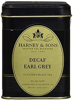 Decaffeinated Earl Grey Loose tea in 4 Ounce tin