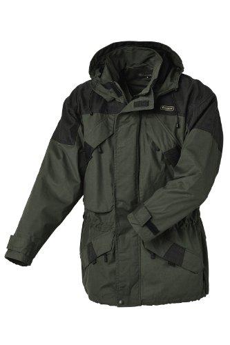 Pinewood Unisex Funktionsjacke Lappland Extrem, dunkelgrün/schwarz, XL, 9093