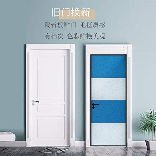 KONGRMB voelde geluiddichte deur Stickers zelfklevende eenvoudige deur afdichting geluiddicht katoen slaapkamer milieubescherming mute mooie decoratieve geluiddichte board