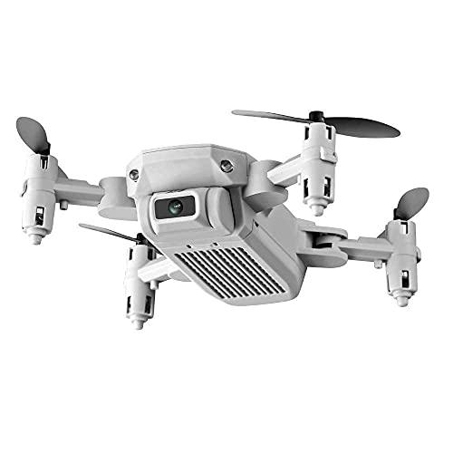 DCLINA Drone Mini Fotografia Aerea 0.3MP/5.0/4KMP HD Camera 4 Assi Air Air Pressure Altezza Fissa Telecomando Giocattolo Aereo Pieghevole Drone Quadcopter Aereo Giocattoli Volanti