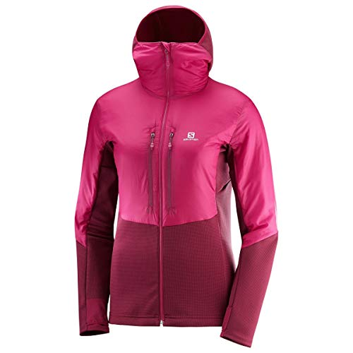 SALOMON Damen Drifter Air Mid Hoodie Jacke Isolationsjacke