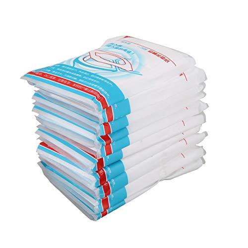 TOOGOO 100pzs/paquete Estera Cubierta de Asiento de Inodoro desechable Almohadilla de Papel de Inodoro Impermeable para Viaje/Camping Accesorio de Bano