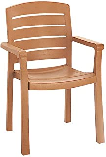 Grosfillex US119008 Acadia Classic Stacking Dining Armchair (Case of 4)