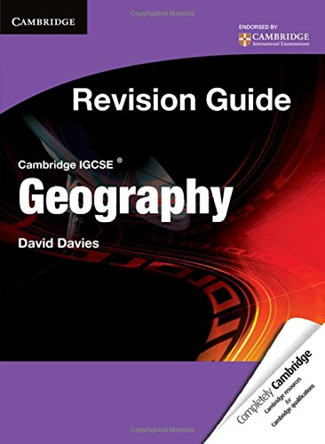 Cambridge IGCSE Geography Revision Guide Student's Book (Cambridge International IGCSE)