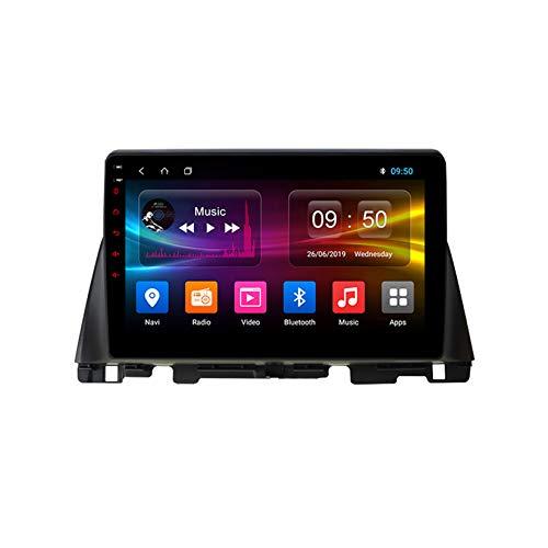 TypeBuilt Autoradio 9 Zoll HD Bildschirm Radio GPS Navigation Auto DVD Player Für KIA K5 Optima 2016-2019 Android Auto Unterstützen DAB Lenkradsteuerung Mirrorlink Carplay,Px6