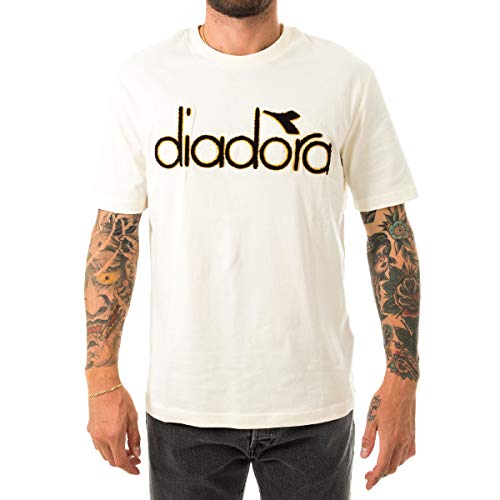 Diadora t-Shirt Uomo SS 5PALLE WNT 502.17661920009 Whisper White XL