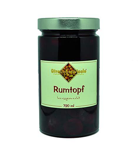 Streuobstwiesle Rumtopf - 720 ml Erlesene Früchte in echtem Rum (54{4b8cc10c7aa0fab87849c888bd5e91f9b24f2dd2c37a5e71dcc93c1b57ea853e})