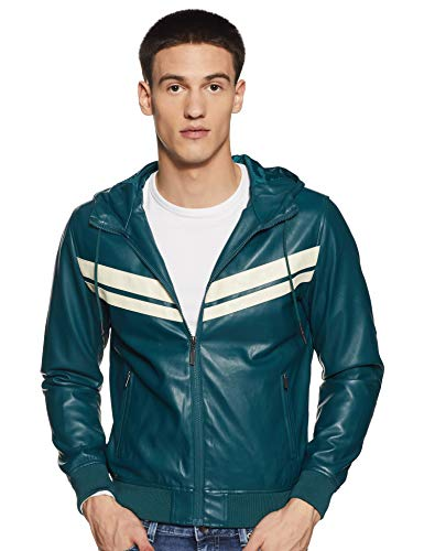 United Colors of Benetton Men's Quilted Jacket (19A2FSIC3027I_901_S_Green_S)