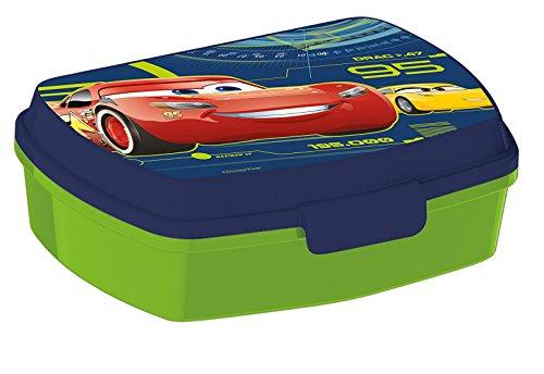 Joy Toy 782674 Cars 3 Boîte à Lunch avec Clip et d'obturation, 11 x 16 x 5.5 cm