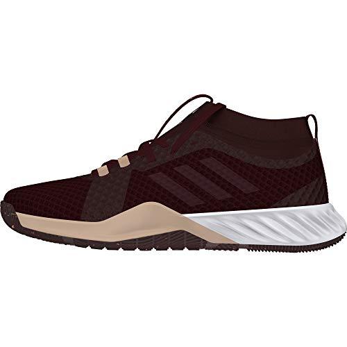 adidas Crazytrain Pro 3.0 W, Zapatillas de Deporte para Mujer, Rojo (Granat/Granat/Rojnoc 0), 41 1/3 EU