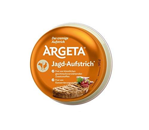 Argeta Pasteta Jagd - Aufstrich - Jagdwurst Aufstrich Pastete Brotaufstrich 95g