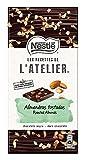 Nestlé Les Recettes de L 'Atelier - Chocolate negro y Almendras - Tableta de Chocolate 16x115g