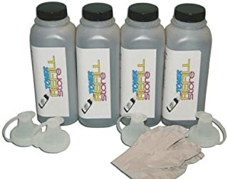 Toner Refill Store ™ 4 Pack Black Toner Refill for HP Q2612A 12A LaserJet 1012 1010 1015 3015 3020 3030 3050 3052 3055