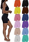 Top Choice for Anti-Chafe Fit: Sexy Basics Women's Buttery Soft Stretch Mini Bike Short Boxer Briefs