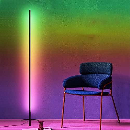 SHIJIANX Lámpara de Pie LED Regulable con Control Remoto, Atmosphere Lámpara de pie RGB-Atmosphere Light-Colorful Colorful Anchor Room Decoración de Fondo-Bar Gaming Symphony Fill Light