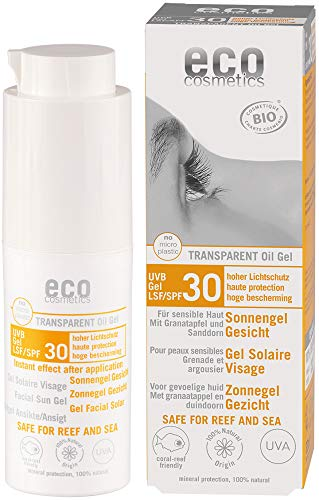eco cosmetics Bio Sonnengel Gesicht LSF 30 (2 x 30 ml)