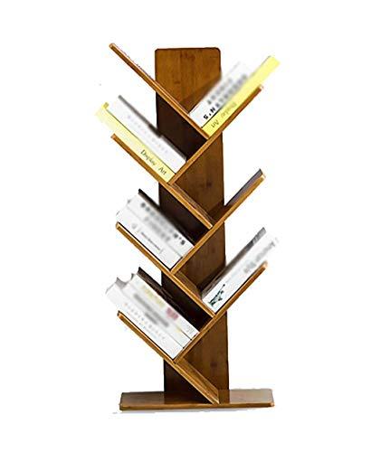 CHOUCHOU Shelves bookshelf Floor-standing small bookshelf, bamboo shelf storage rack Floor-standing bookshelf (Size : 4-Tier),Size:3-Tier Flower Pot Rack (Size : 4-Tier)