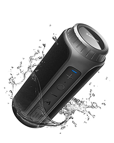Bluetooth Speakers, Zamkol ZK202 Portable Wireless Speaker with 30W Loud Sound, IPX6 Waterproof,...
