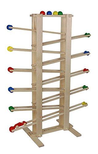 Drewa Holzspielwaren 01101 Fixkugelbahn - 100cm