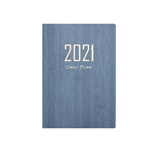 Geschäfts Notizbuch A5 Notizbuch 2021 Kalender Tagebuch Notizbuch für Büro Schreibwaren Uni Student Schüler