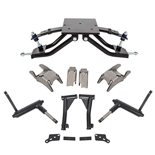 """ECOTRIC 6"""" Double A-Arm Golf Cart Lift Kit for 1982-2003 Club Car DS Electric&Gas"""