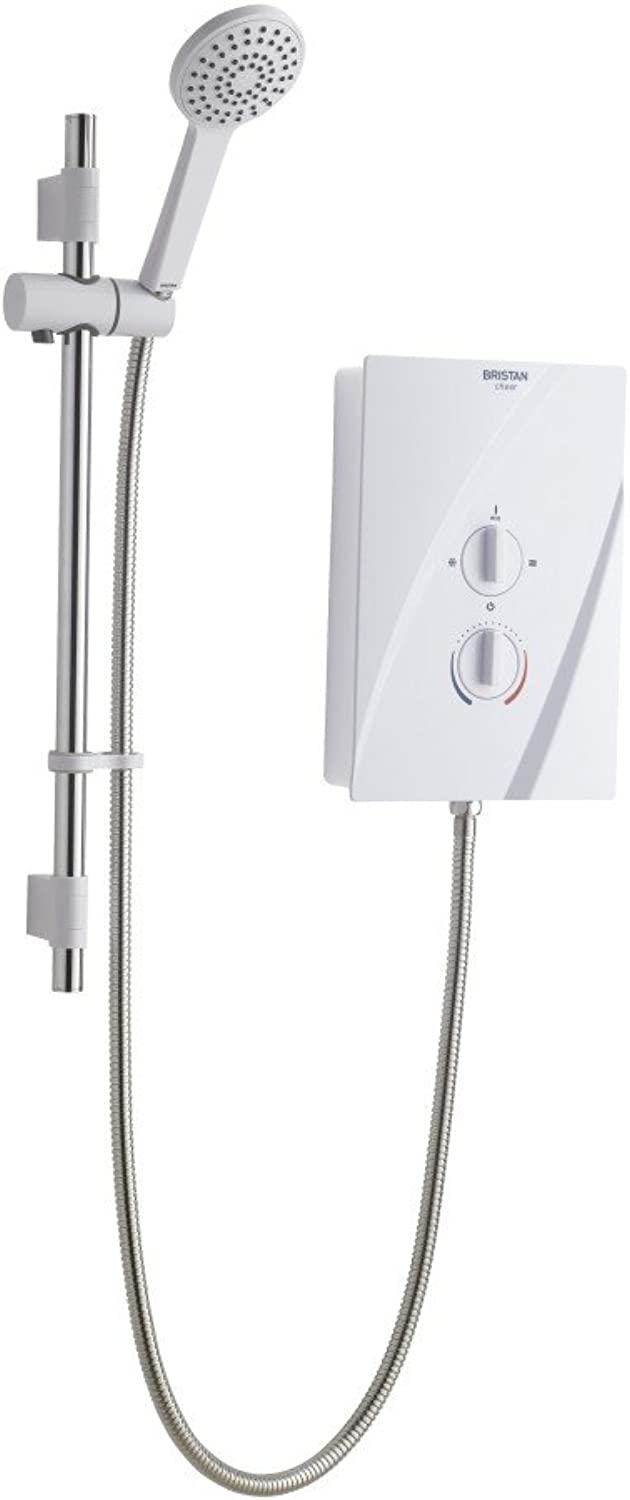 Bristan CHE95 W 9.5 kW Cheer Electric Shower - White