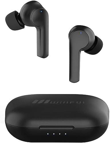 Willful Ecouteur Bluetooth Sans Fil Sport Oreillette Bluetooth 5.0 Intra Auriculaire Tactile USB C Etanche IPX7 HiFi ...