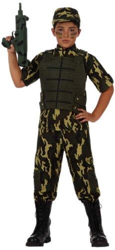 Atosa-10952 Disfraz Militar, color verde, 5 a 6 aos (10952)