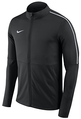 Nike Dry Park 18 Training, Giacca Uomo, Black White, XL