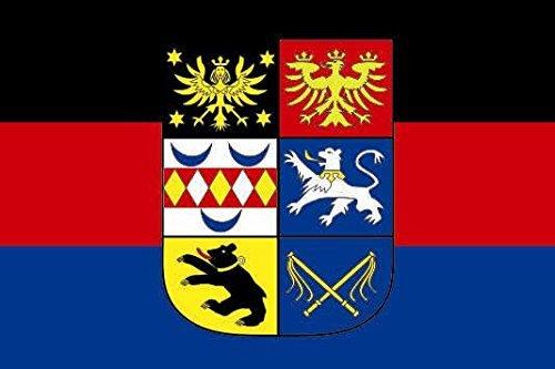 U24 Fahne Flagge Ostfriesland Bootsflagge Premiumqualität 20 x 30 cm