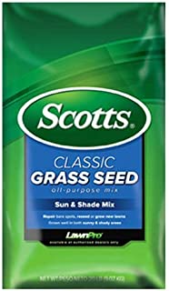 Scotts Company 17183 Classic Sun and Shade Mix Grass Seed, 3-Pound