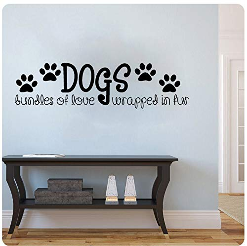 Dogs Bundles of Love Wrapped in Fur Sticker mural
