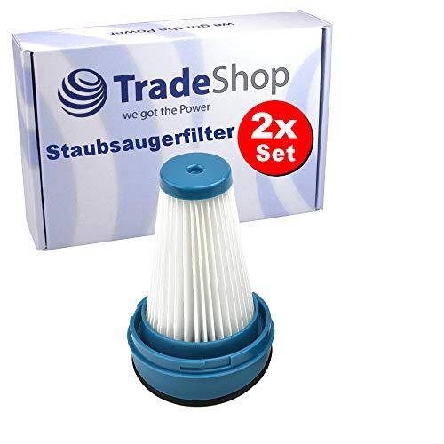 2x Staubsaugerfilter / Ersatzfilter / Faltenfilter für viele Black & Decker Staubsauger ersetzt SVF11 1004708-73 Akkustaubsauger Handstaubsauger