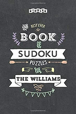 The Best Ever Book of Sudoku Puzzles for The Williams
