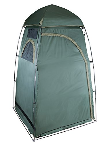Stansport Privacy Shelter - 48 in X 48 in X 84 in, Gray