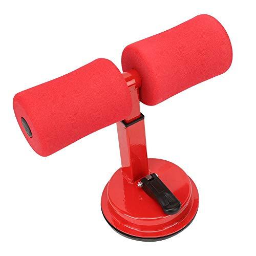 VGEBY Barra de Abdominales Crunches Asistente Asistente de Abdominales Cintura Reducción de Grasa Equipo de Ejercicios Abdominales para el hogar(Rojo)