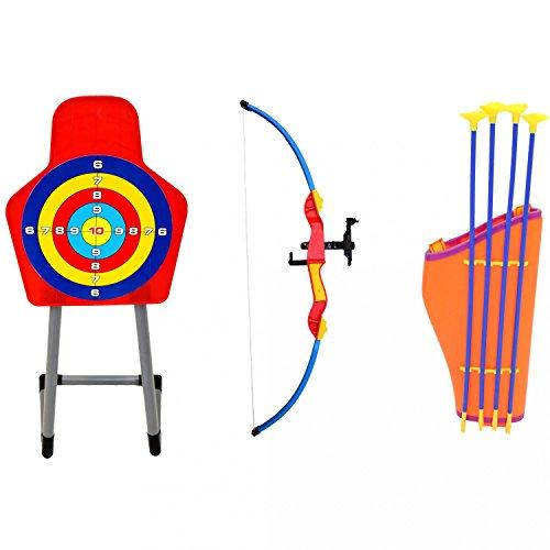 Oypla Kids Toy Bow & Arrow Archery Target Set Outdoor Garden Game