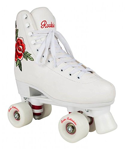 Rookie Rollerskate Pink Skate, Damen 35,5 weiß