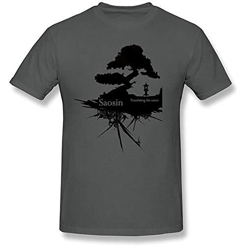 XDD kjjhbgyugyt Men's Saosin Shirt Design T-Shirt (Size:XXXL