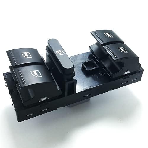 Bajeoiu 1Z0959858B Interruptor de Ventana eléctrico Botón de Interruptor de Control de Ventana, para S-Koda Octavia II Superb Fabia Yeti Roomster 2004-2015