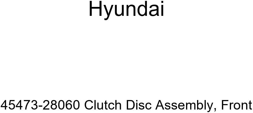 Genuine Hyundai Nippon regular agency 45473-28060 Clutch Disc Assembly Save money Front