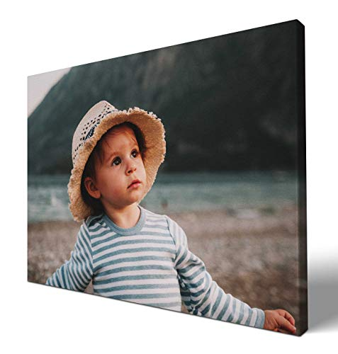 wandmotiv24 eigenes Foto Querformat 40x30cm auf Leinwand drucken Lassen, Ihr Fotodruck selbstgestalten eigenes Motiv, Leinwandbild, Fotogeschenk individuell