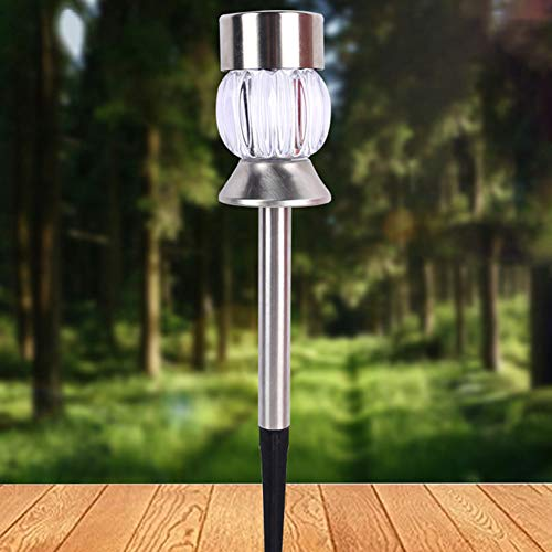 [LED-Leuchten, Weihnachtsbeleuchtung]-Ground Solar Powered Pin Light LED Garden Lawn Outdoor Road Alley Stake Lampe