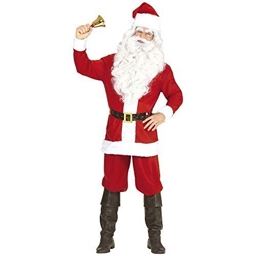 WIDMANN-Babbo Natale Costume Uomo, Multicolore, (M/L), 14938